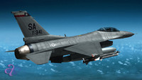 F16 F-16 Jet Fighter