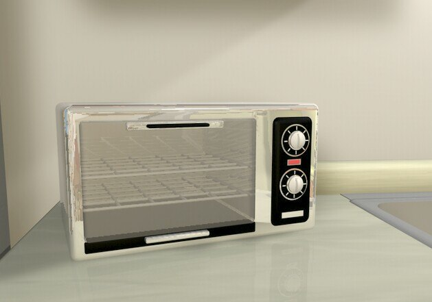 toaster oven c4d