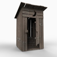 lightwave outhouse toilet