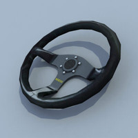 maya racing steering wheel