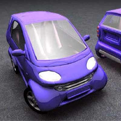smart car 3d max