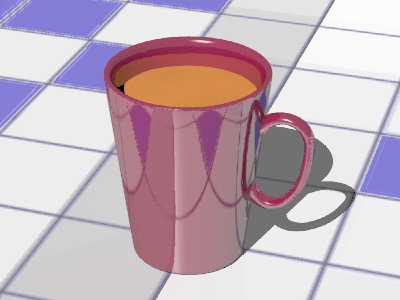 free cup coffeecup 3d model