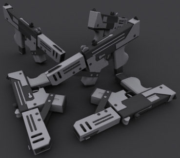 3d model blades mac 11