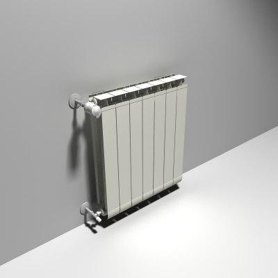 3d heating radiator