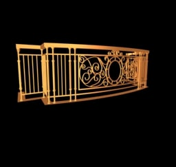 3d balcony house designers