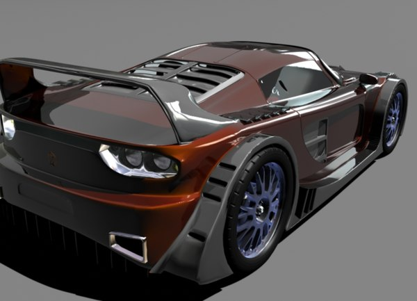 Free Sports Car 3D Models for Download | TurboSquid