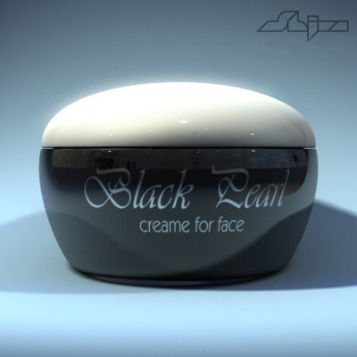 3d model of makeup cream