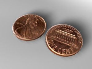 3d cent model