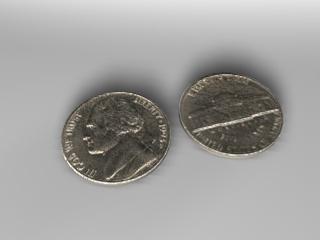 3d jefferson nickel model