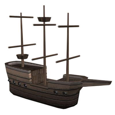 3ds pirate ship