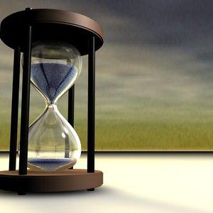 timeglass sand c4d