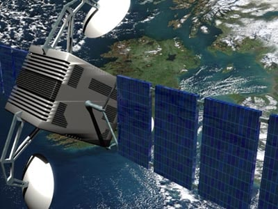 communication sattelite orbital 3d 3ds