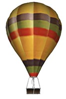 hot air balloon new 3d model