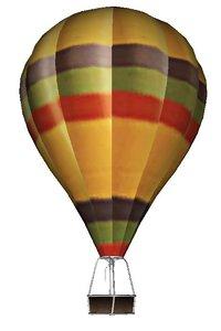 hot air balloon new 3d model