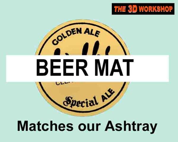 beer mat 3d pz3
