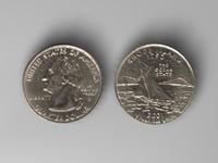 3d rhode island quarter model