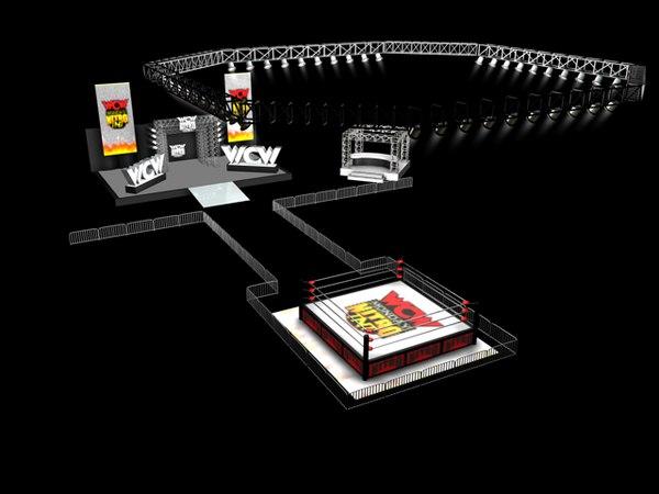 nitro arena 3d model