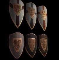 shields 3d model