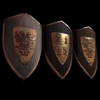3d model of shields