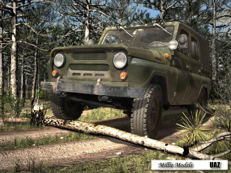 max uaz russian vehicle