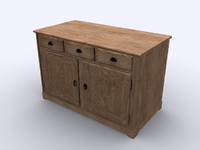 3d model furniture desk