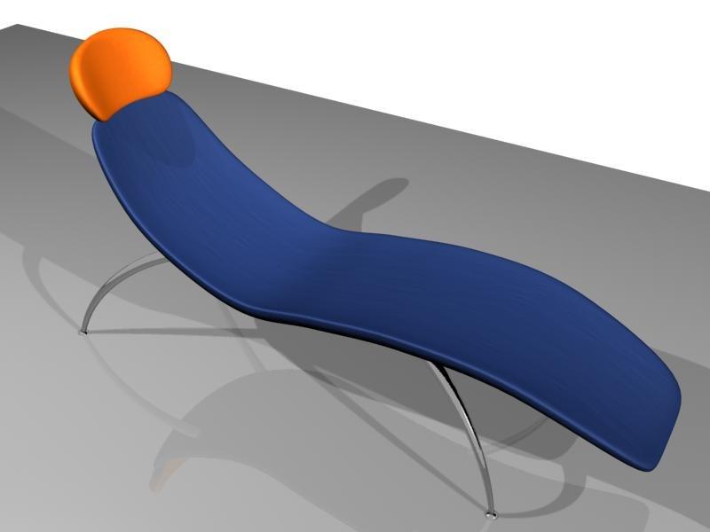 3d chair furniture model