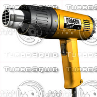 3d electric heat gun