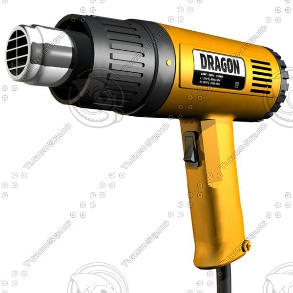 3d electric heat gun