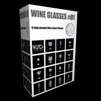 WINE GLASS COLLECTION 01.zip