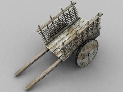 free cart 3d model