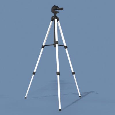 3ds max camera tripod