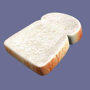 3ds max slice bread