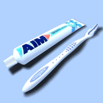 max toothbrush toothpaste
