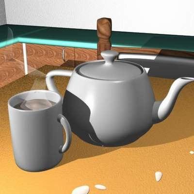 maya cup tea pot