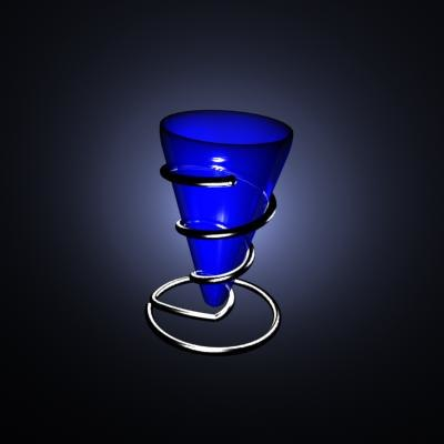 3d model of flower vase