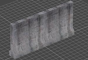 concrete median x