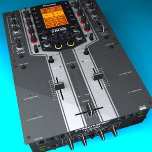 pioneer djm-909 dj 3d ma