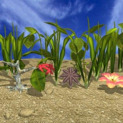 props nature 3d model