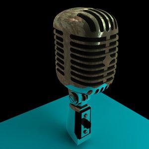3d microphone shure 55 sh model