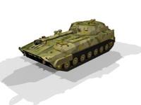 russian gvozdika 3d model