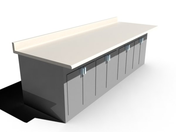 counter cabinet dwg