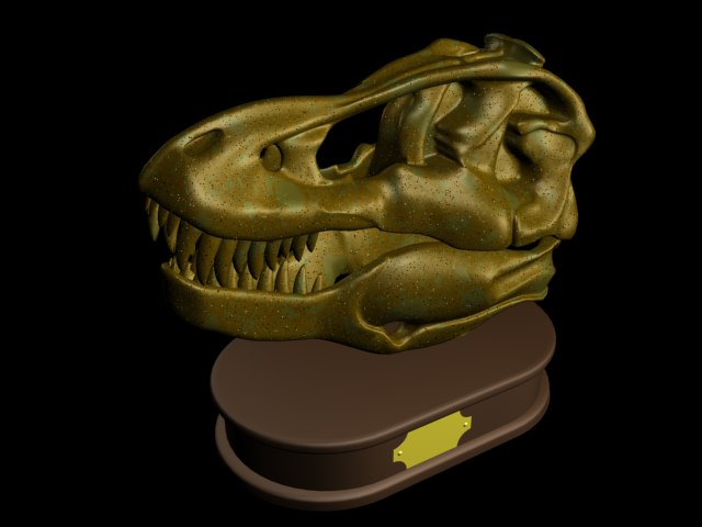 tiranosaurusu dinosaur 3d model