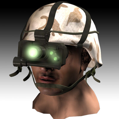 3d max soldier goggles
