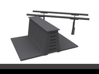 3d gym model