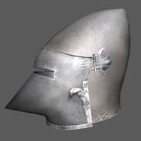 ma medieval helmet