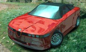 alfa romeo sz 3d model