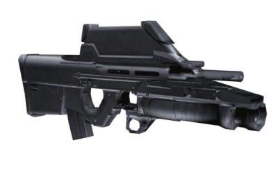 gun pistol rifle 3d model