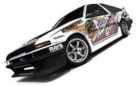 Toyota Sprinter Trueno (J-Blood bodykit)