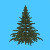 3ds conifer tree