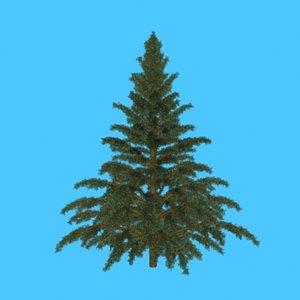 3ds conifer tree